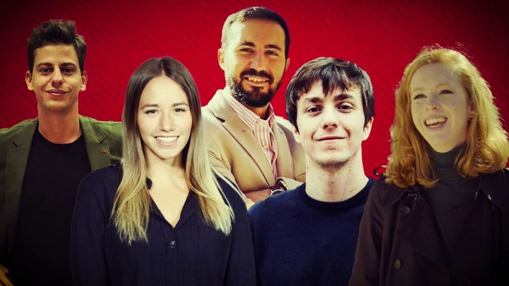 Conoce a los cinco candidatos para el 4-M que han participado en 'El debate de los idealistas': las jóvenes promesas de cada partido