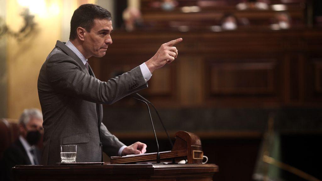 Sánchez levantará el estado de  alarma el 9 de mayo pese al reproche mayoritario del Congreso