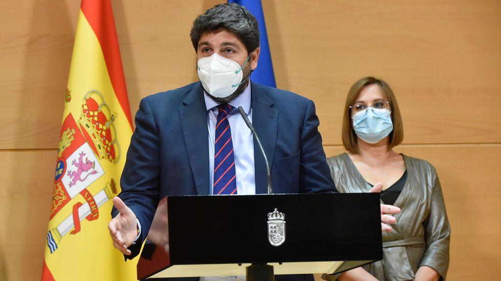 EL PSOE denuncia por cohecho al presidente murciando y a los tránsfugas de Ciudadanos que tumbaron la moción de censura