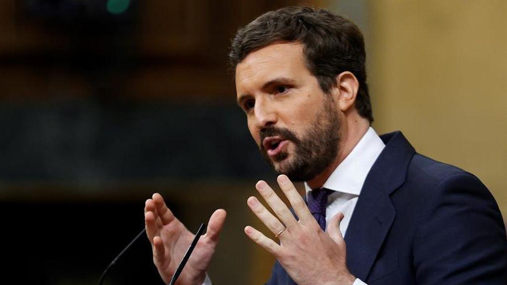 """Casado exige a Sánchez que legisle contra la pandemia: """"Aguantamos la chulería de su Gobierno"""""""