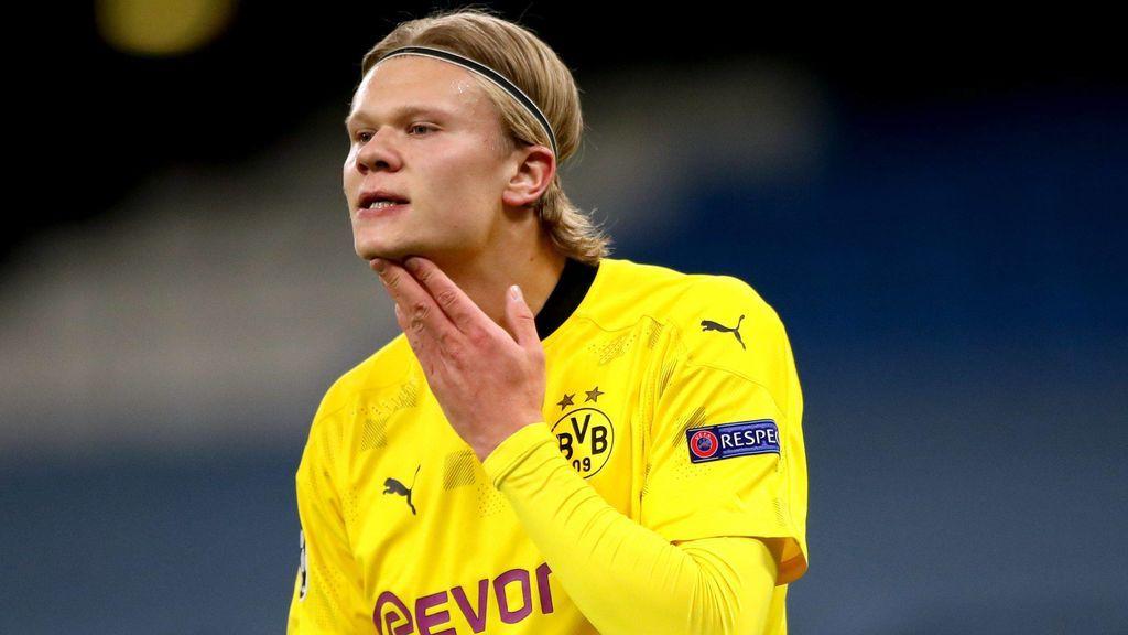Haaland quiere salir del Dortmund en verano.