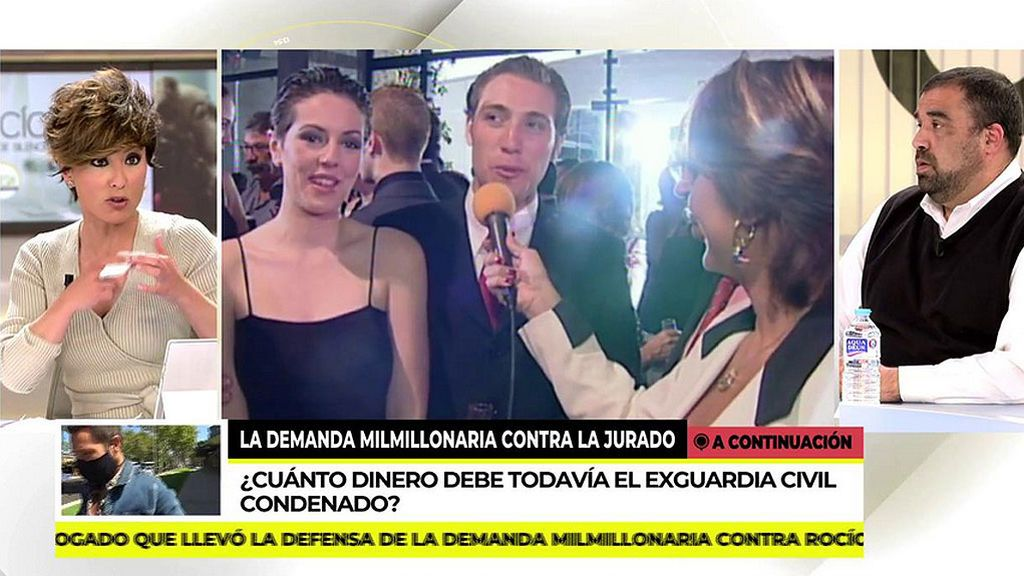 """Sonsoles Ónega, indignada con los audios judiciales de Rocío Carrasco: """"Me he puesto tan nerviosa que me roto un dedo"""""""