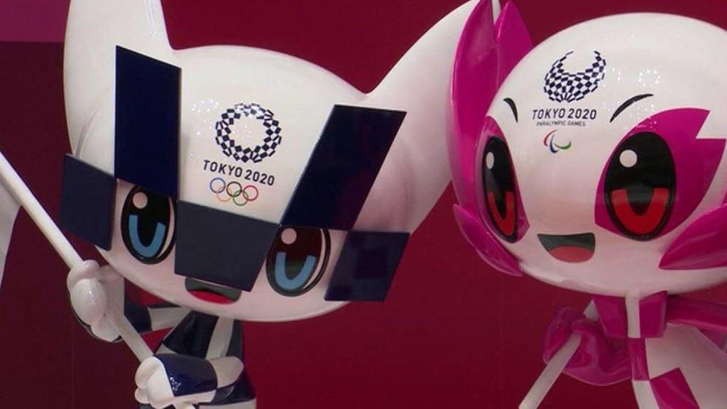 Tokio descubre las estatuas de sus mascotas a 100 días de que empiecen los JJOO