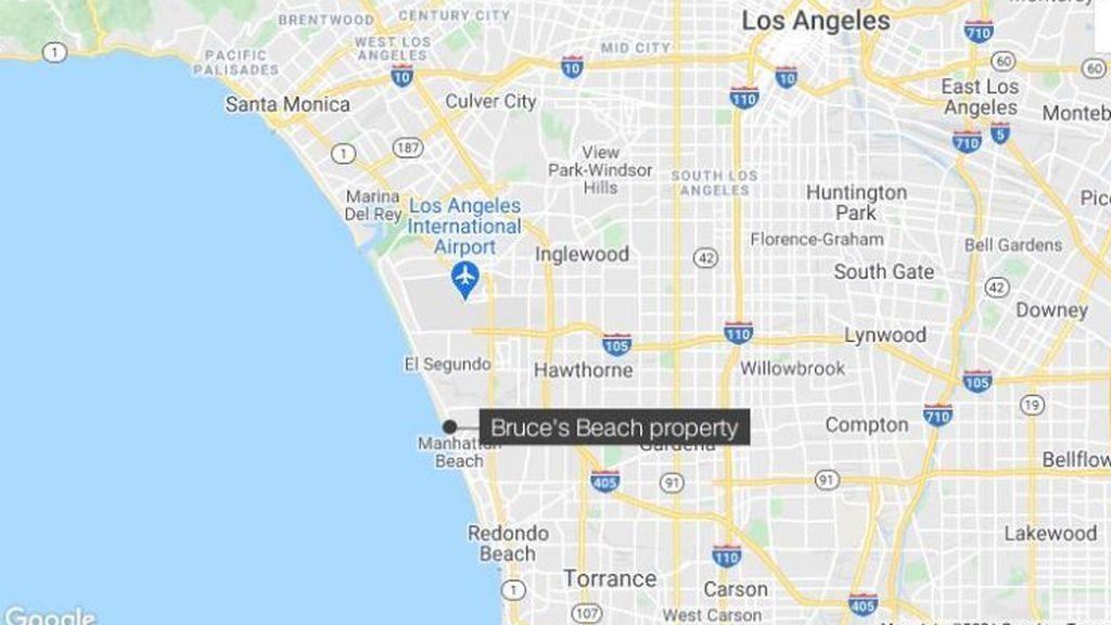 El condado de Los Ángeles devolverá una propiedad a los descendientes de los dueños, una pareja negra