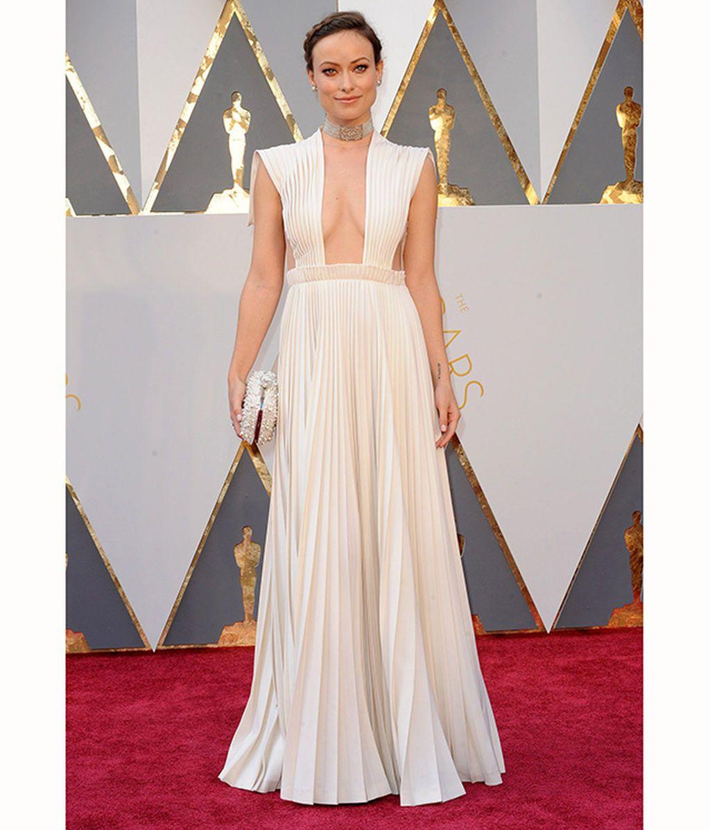 Olivia Wilde en los Oscar de 2016