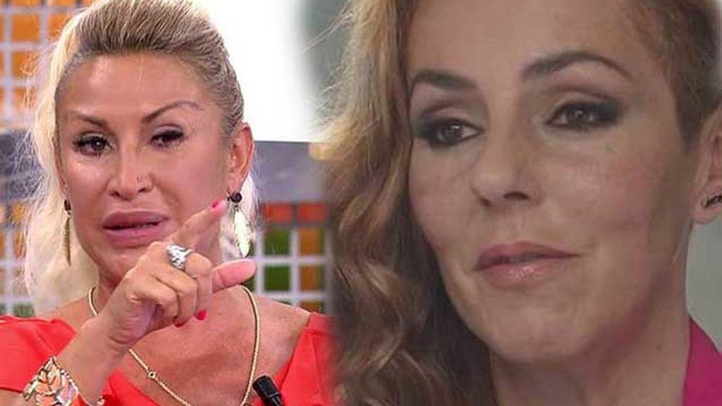 """Raquel Mosquera responde a Rocío Carrasco: """"Pedro no le pidió perdón, es mentira"""""""
