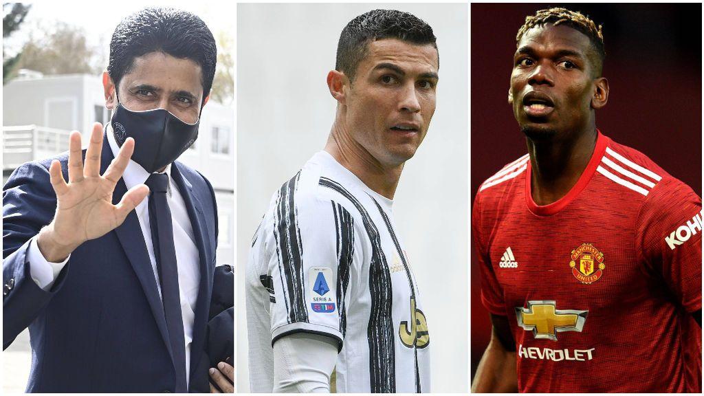 PSG y United, posibles salidas de Cristiano Ronaldo.