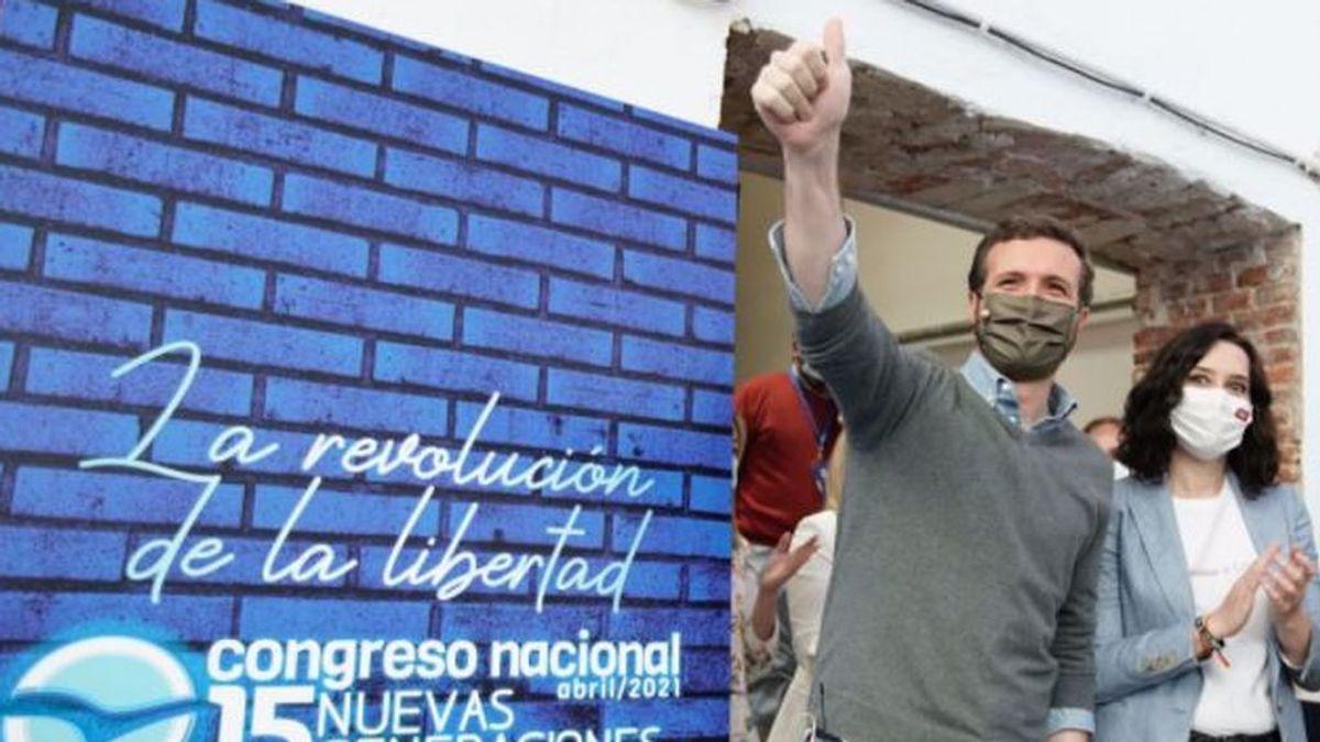 Casado 'copia' el manual de  Ayuso y eleva el tono contra Sánchez para seducir ahora a los votantes de Vox