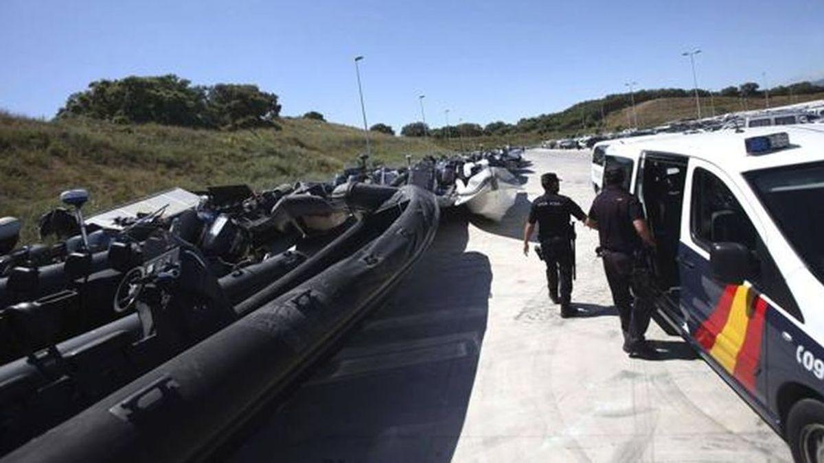 Más de 250 policías participan en una operación antidroga en el Campo de Gibraltar