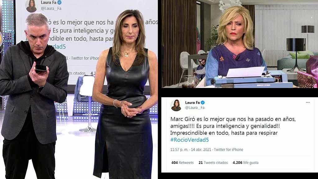 """Laura Fa, muy crítica con Lydia Lozano: """"Quedó muy mal en el programa de Rocío"""""""