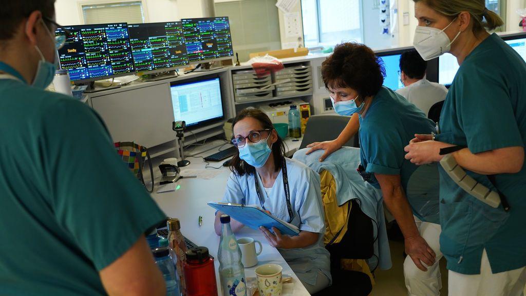 Médicos alemanes alertan de que la escasez de camas en las ucis puede ser inminente