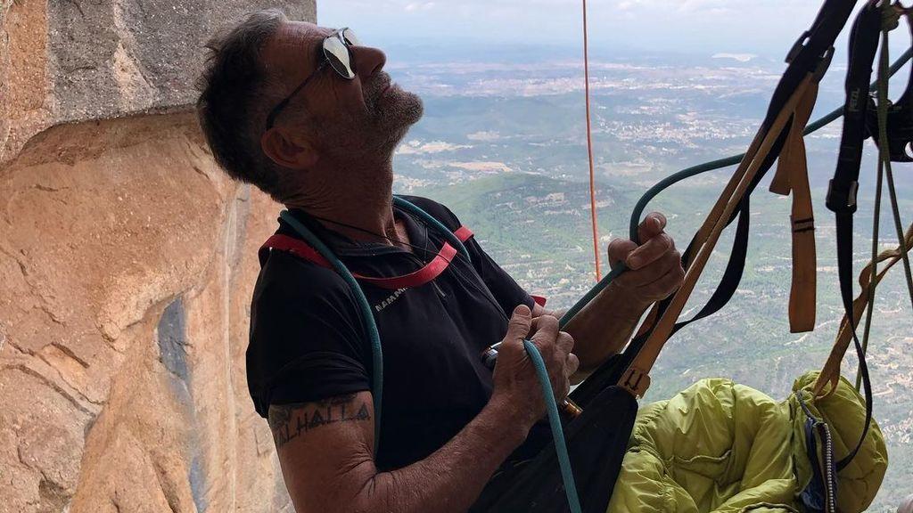 Francisco 'Novato' Marín o cómo empezar a escalar en serio a los 50 años
