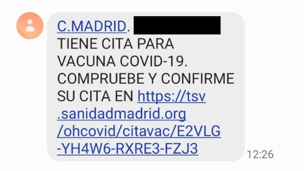 Cita vacuna Madrid