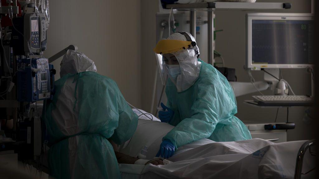 Madrid vuelve a superar los 500 ingresados en UCI por coronavirus