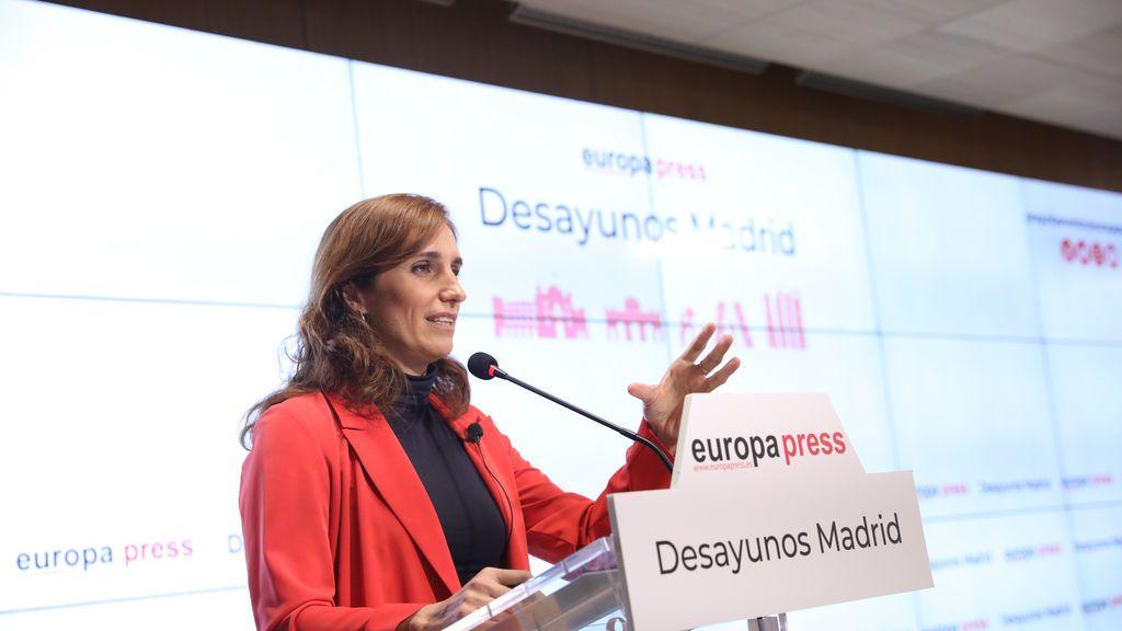Mónica García quiere reconvertir el Zendal en un 'health lab'  donde investigadores y ciudadanos busquen soluciones juntos