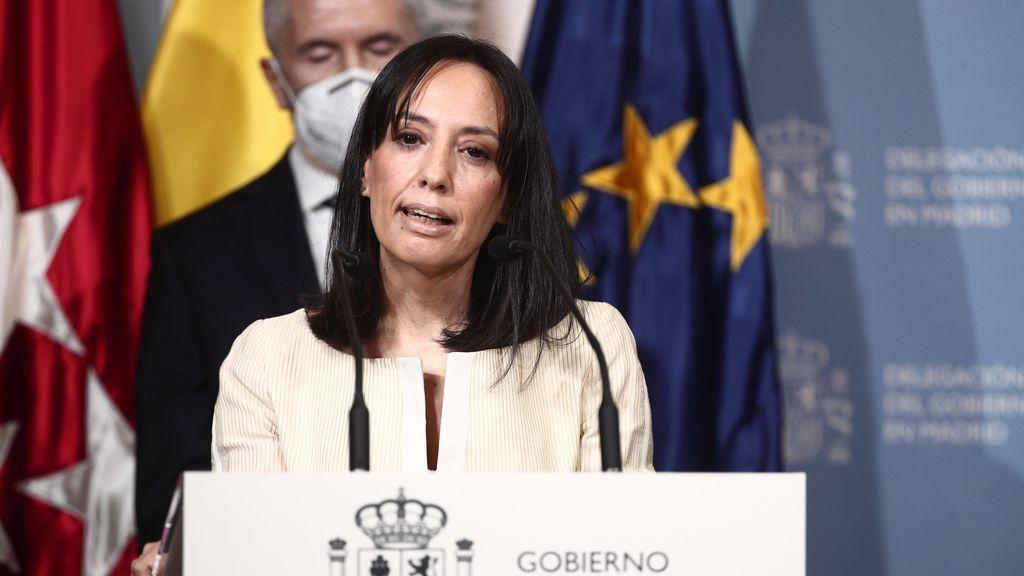 EuropaPress_3628072_nueva_delegada_gobierno_comunidad_madrid_mercedes_gonzalez_interviene_toma