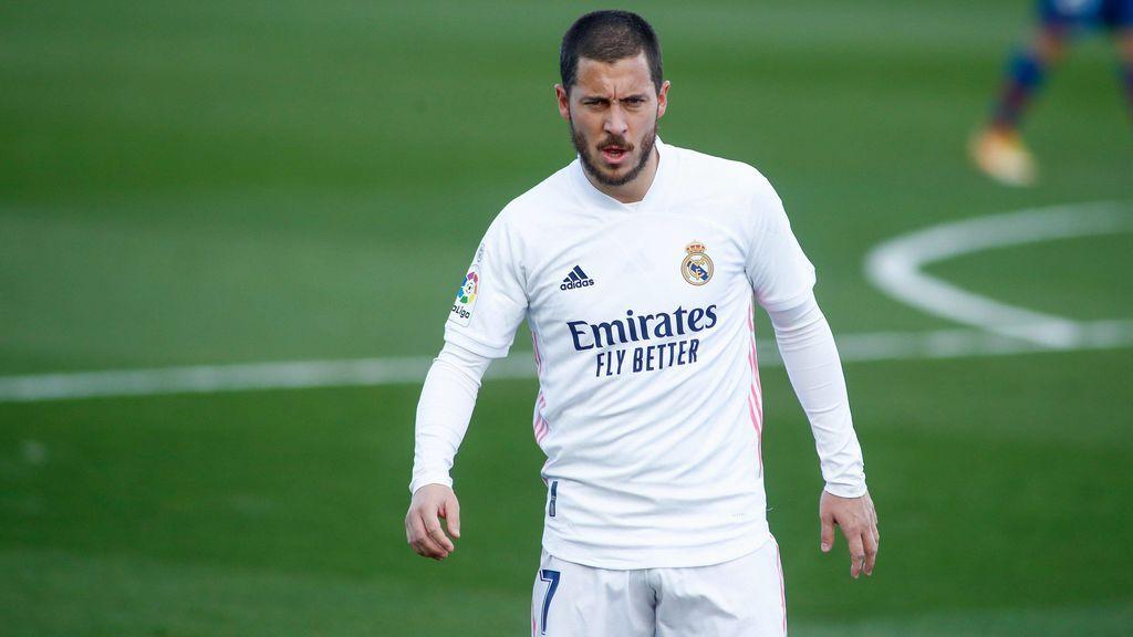 Hazard vuelve a casa: el belga se machaca y el Real Madrid le confirma que seguirá el próximo año