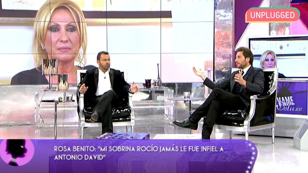 Rosa Benito y Antonio David Flores en 'Sábado Deluxe'
