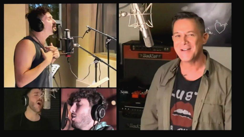 Más de 40 artistas versionan el 'Himno de la alegría' en un videoclip solidario