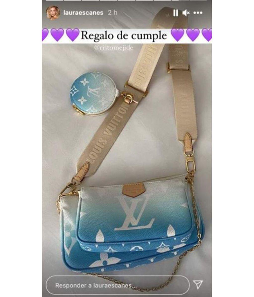 Risto Mejide regala a Laura Escanes un bolso valorado en 1750