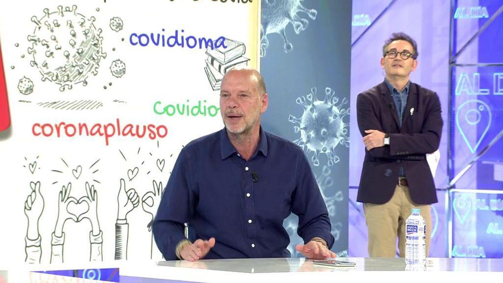 """Jaime González, indignado con las nuevas palabras aprobadas por la RAE: """"¿Alguno ha oído antes coronabebé?"""""""