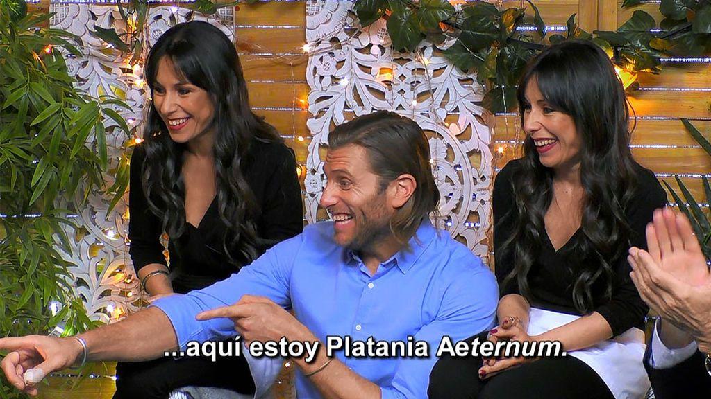 """La felicitación y el nuevo look de Platania Aeternum dejan boquiabiertos al equipo 'First Dates': """"¡Grande Platania!"""""""
