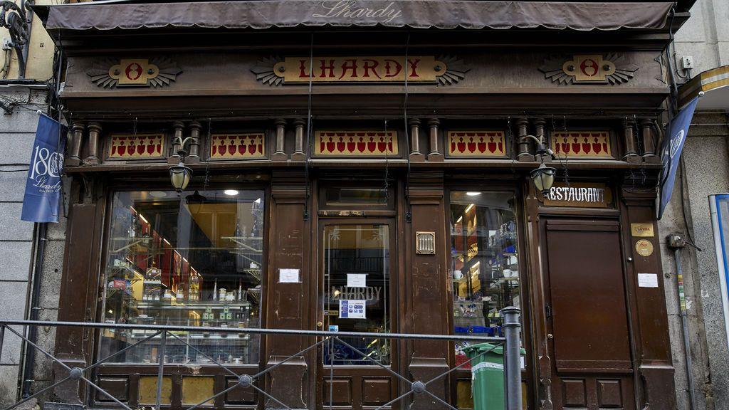 Pescaderías Coruñesas compra el restaurante Lhardy antes de su cierre definitivo