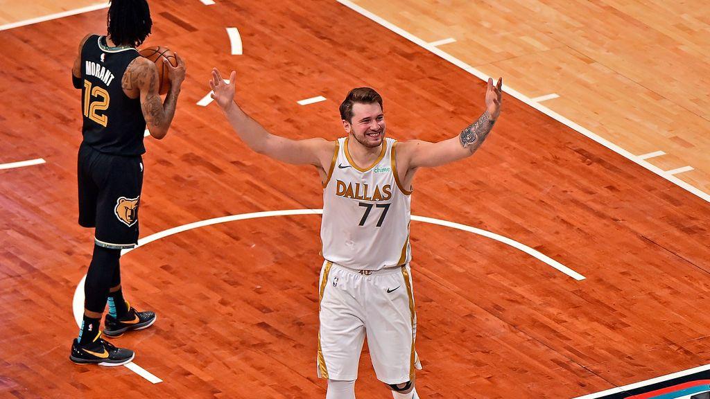 Un triple ganador de Luka Doncic sobre la bocina deja sin palabras a la NBA