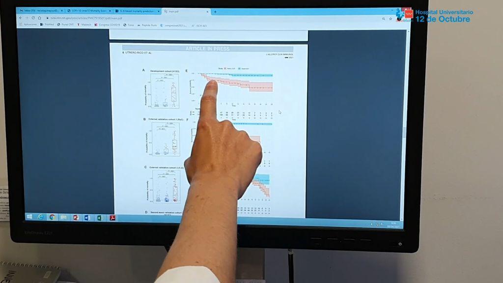 El Hospital 12 de Octubre logra predecir el riesgo de mortalidad por covid