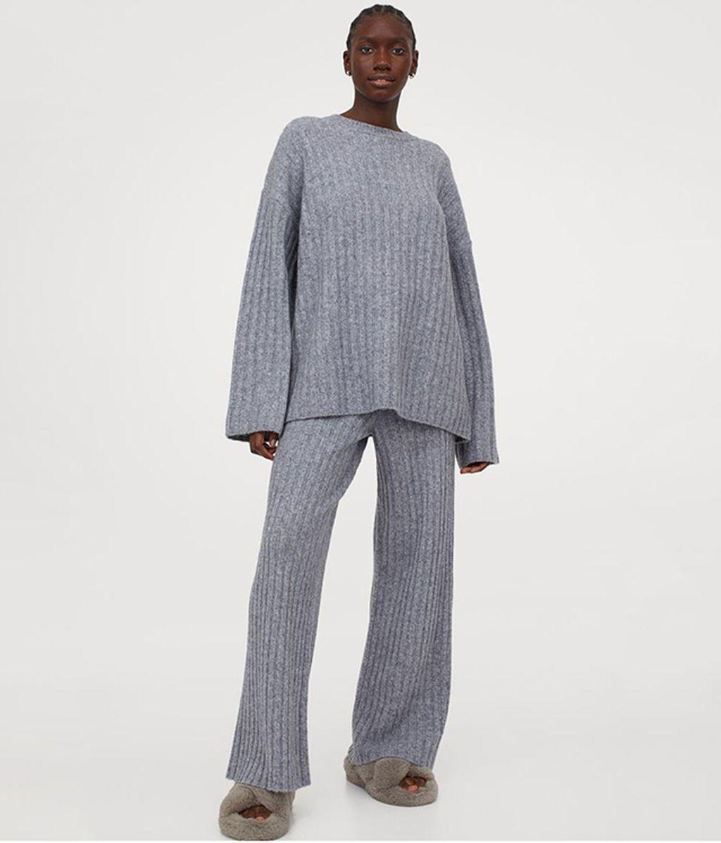 Pantalón de canalé de H & M