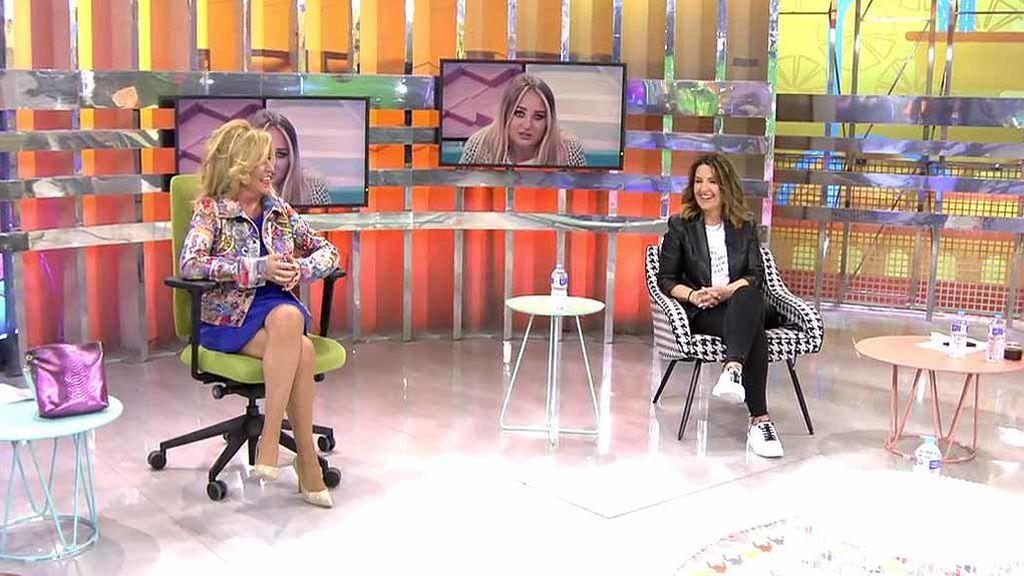 """El tenso reencuentro de Lydia Lozano y Laura Fa: """"Algunos amigos se pierden porque derrapas"""""""