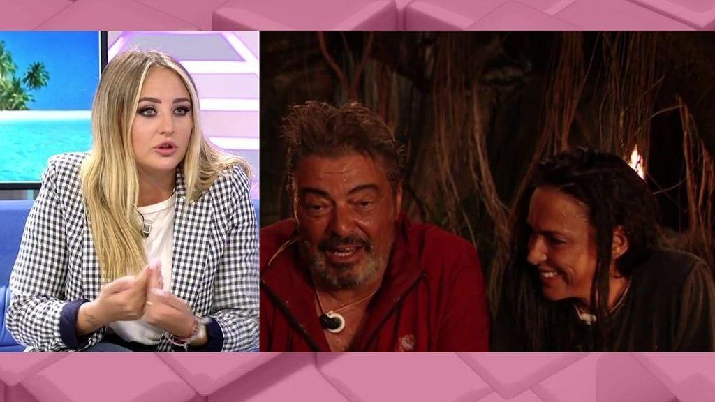 Rocío Flores habla de la relación entre Canales y Olga Moreno