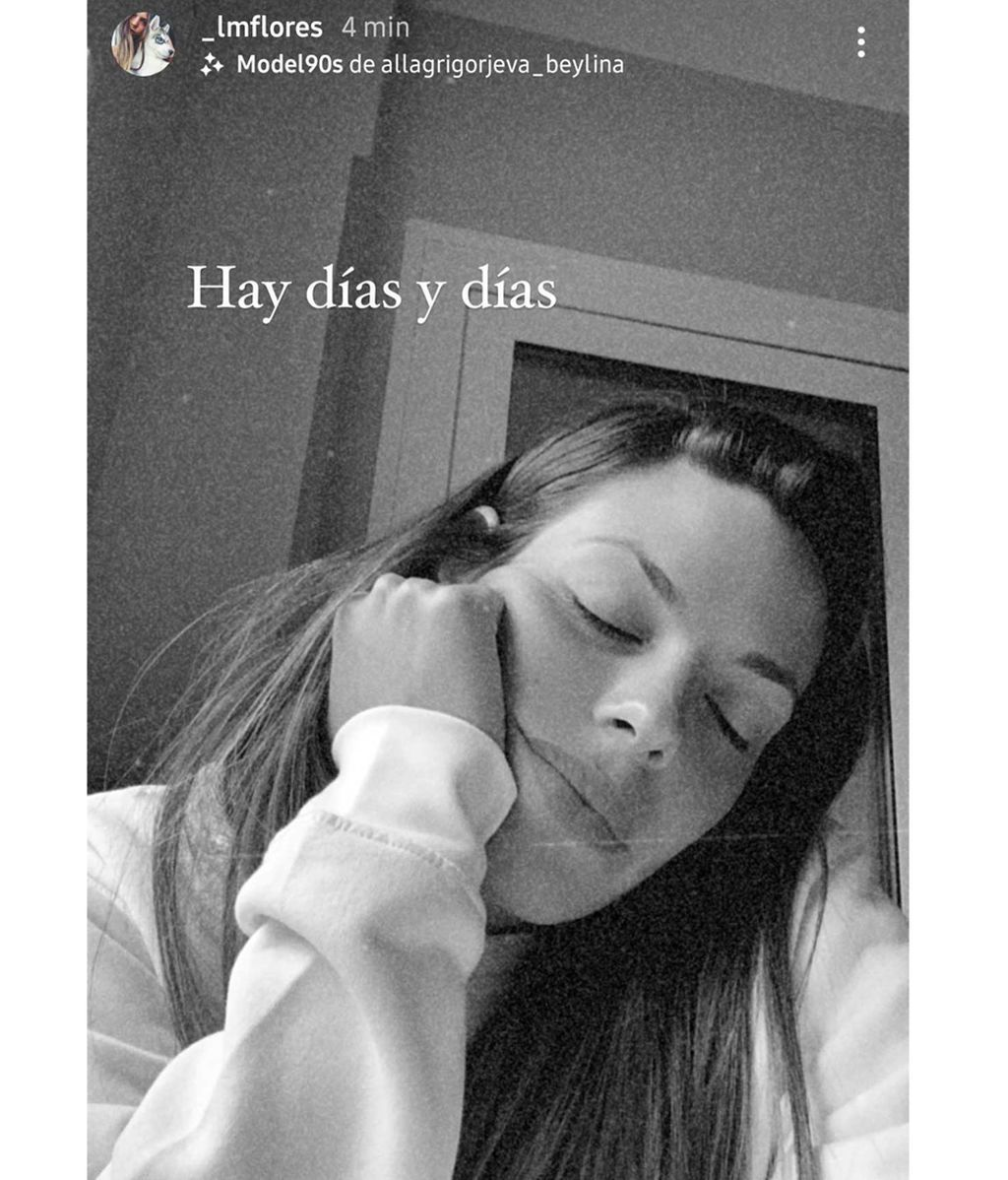 Laura Matamoros en su última publicación de Instagram