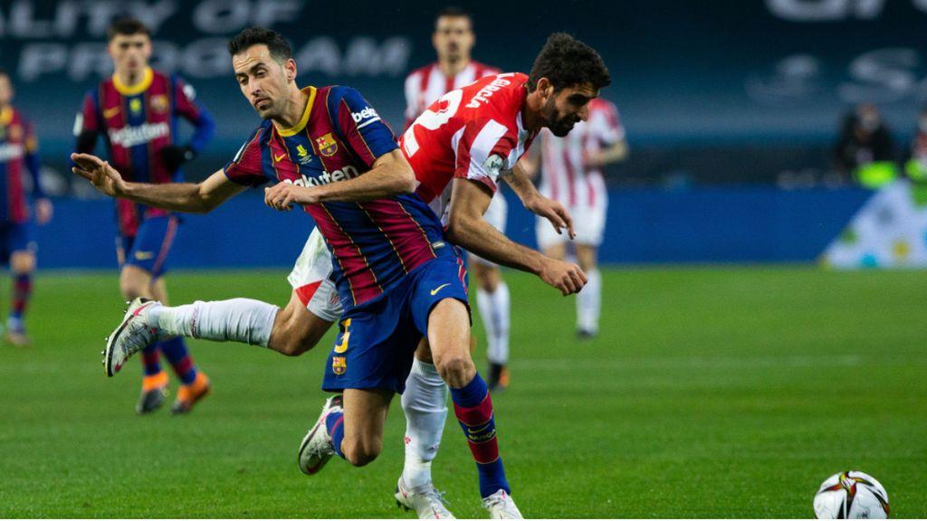 Athletic-Barcelona, la final de la Copa del Rey, este sábado a las 21.30 en Telecinco: los posibles titulares