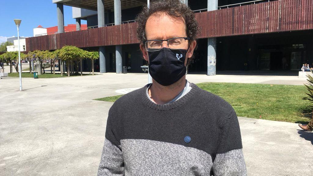 Ugo Mayor, investigador de Ikerbasque.