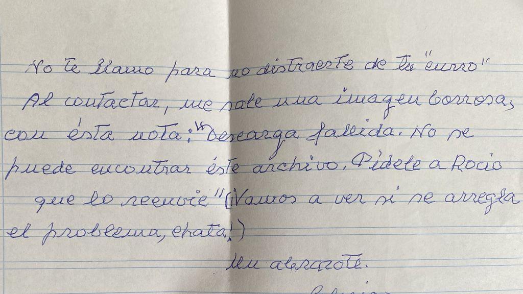 """Rocío, su amiga de 84 años en la escalera y una nota en el buzón: """"Ella me ayudaría si fuese al revés"""""""