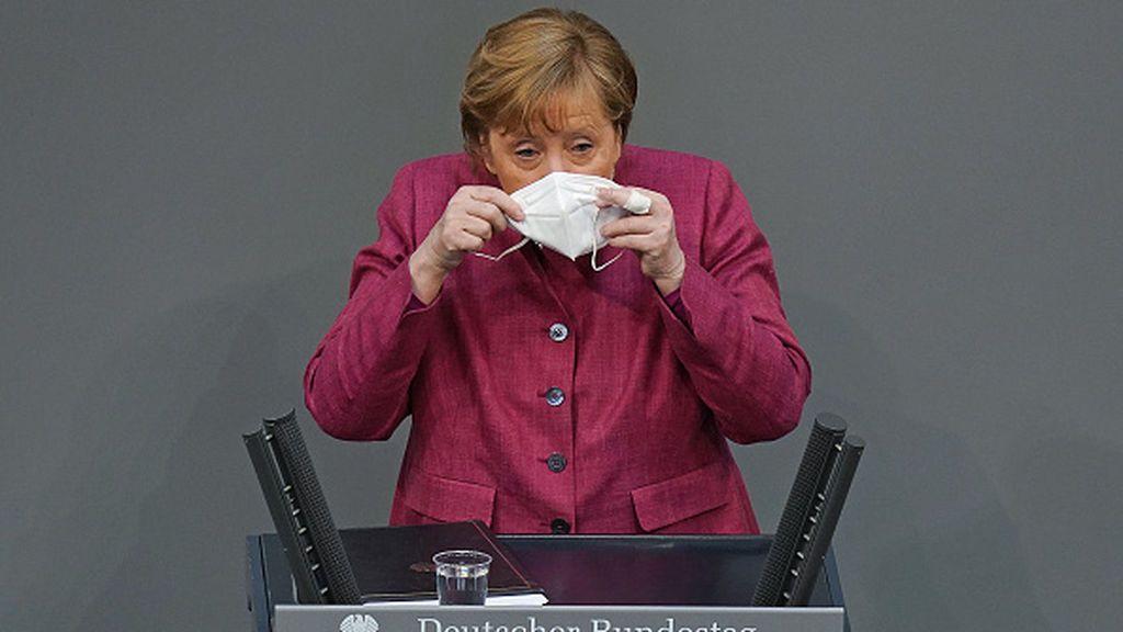 Angela Merkel vacunada contra el coronavirus