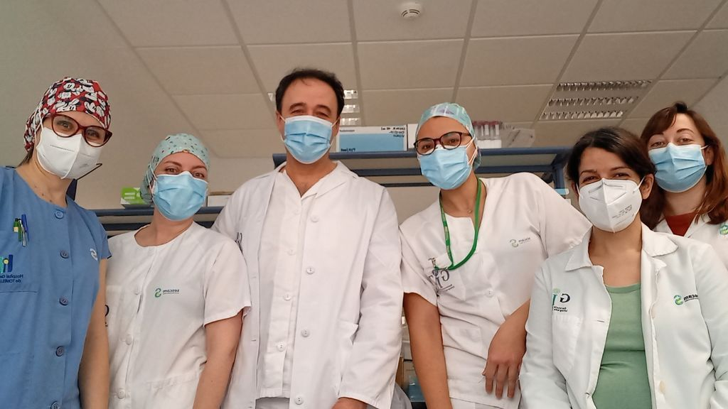 Equipo del doctor Lucendo