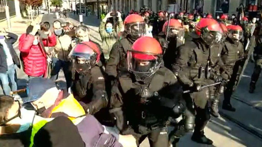 Protesta trabajadores Tubacex