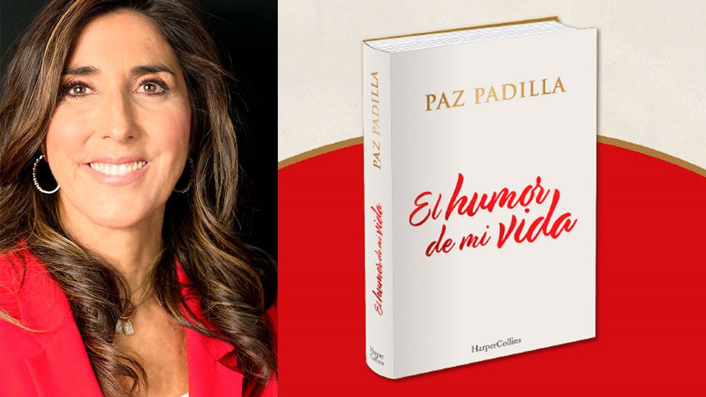 Sálvame: 'El humor de mi vida' el libro más personal de Paz Padilla -  Telecinco