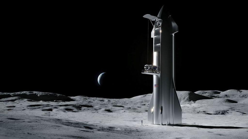 Elon Musk se lleva el contrato de la NASA para la nave que volverá a llevar a un ser humano a la Luna