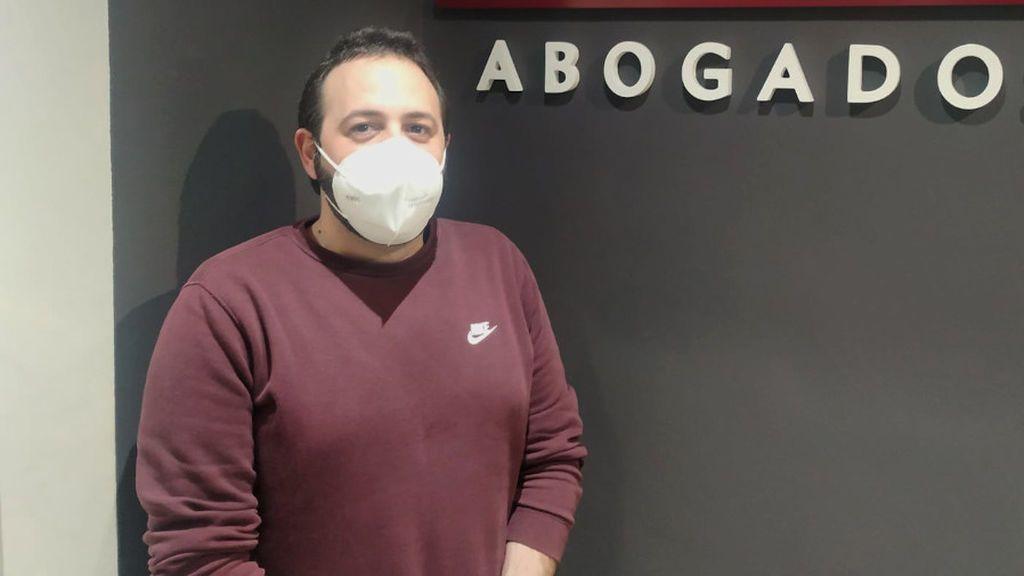 """Una sentencia pionera obliga a readmitir a Fermín: """"Mi jefe me echó a las dos horas de sufrir un atropello"""""""