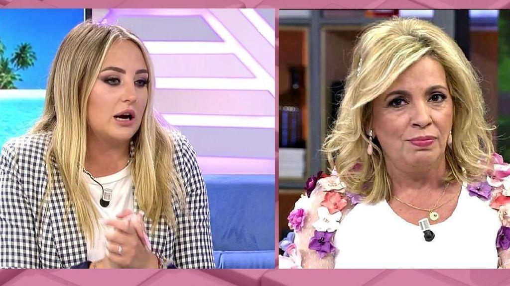 Rocío Flores no tiene piedad con Carmen Borrego