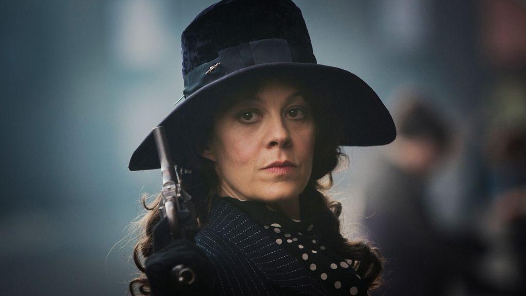 Helen McCrory en la temporada 1 de 'Peaky Blinders'