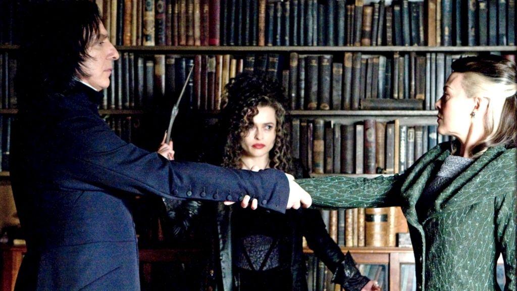Helen McCrory en 'Harry Potter y el misterio del príncipe' (2009)