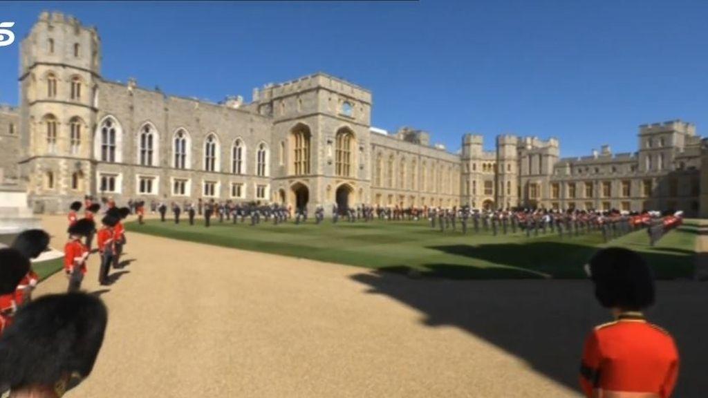 Funeral del duque de Edimburgo: la reina Isabel II y su familia le dan el último adiós