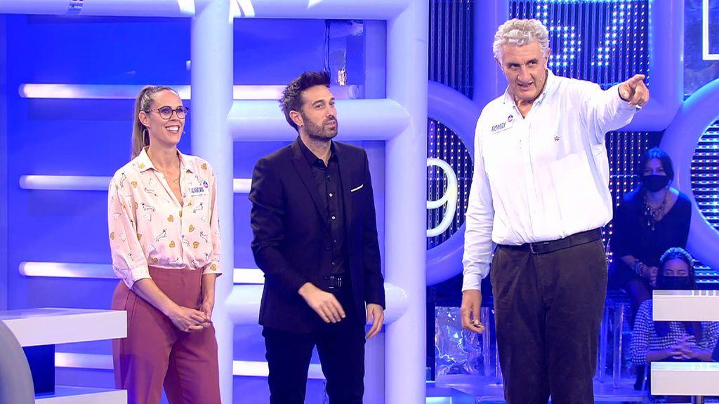 Amaya Valdemoro y Fernando Romay El concurso del año Temporada 3 Programa 9