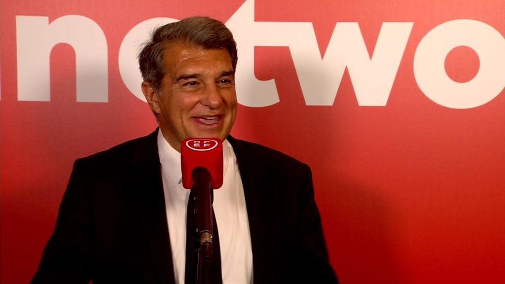 Laporta, entrevistado por Matías Prats.