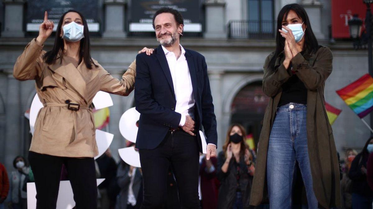 """Elecciones Madrid 2021: Arrimadas: """"Es la primera vez que la frivolidad puede hacer que un gobierno en la Comunidad vaya a peor"""""""