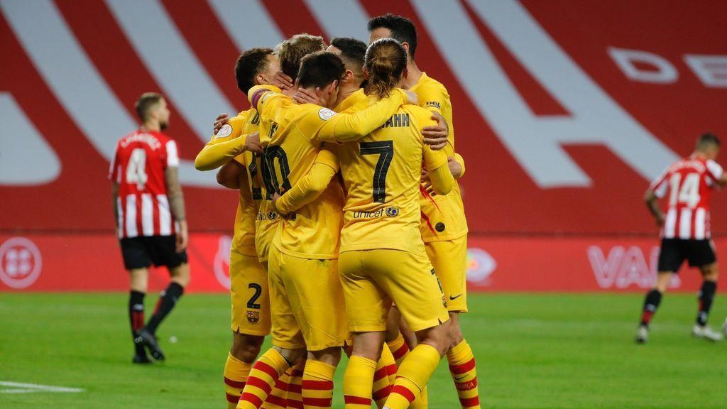 Messi se apunta el doblete tras una nueva conexión con Jordi Alba (0-4)